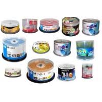 Wholesale Blank Cds- CDR/Cdrw/DVD/Dvdrw from china suppliers