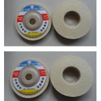 "Wholesale Premium 6"" 100% Organic Wool Felt Polishing Buffing Wheel 6 inches from china suppliers"