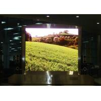 Wholesale Standard SMD2121 P5 die cast aluminum cabinet  indoor full color Haning led display from china suppliers