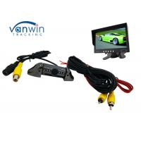 Wholesale Taxi Vehicle Hidden Camera DVR system , Frontview or Rearview Cam with 8 IR lights from china suppliers