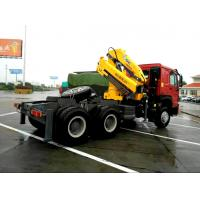 China Vehicle mounted 14 Ton Knuckle Boom Truck Crane For Transporting Heavy Things on sale
