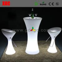 Wholesale Lighting  Bar stool club furniture GF102  light furniture plastic Led furniture High bar Chair from china suppliers