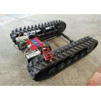 Quality Rubber Track Undercarriage chasiss 1-10T for Construction equipment spare parts for sale