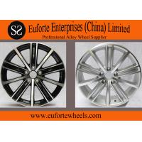 Wholesale 18 inch Black Machine Face  European Wheel, 17 inch Aluminum Alloy Wheel Rims For Tiguna from china suppliers