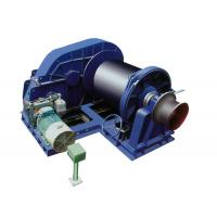 China Horizontal Arrangement Marine Hydraulic Anchor Winch with Single Drum , Steel Wire Rope on sale