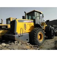 Wholesale Yellow Large Wheel Loaders , Front Wheel Loader Side Dump Bucket from china suppliers