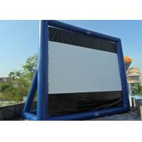 Wholesale Blue Project Screen Inflatable Movie Screen For Outdoor Use from china suppliers
