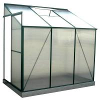 Wholesale OEM Durable DIY Polycarbonate Lean to Greenhouse For Plant / Nursery With Single Sliding Door from china suppliers