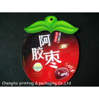 Wholesale Apple Style Shaped Plastic Snack Bags Reusable With Hang Hole from china suppliers