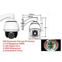Wholesale H.264 5.0 Megapixel Fisheye IP Camera 360 Degree Panoramic IP Camera Outdoor from china suppliers