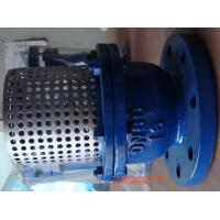 Wholesale Cast Iron Flange Strainer Foot Valve 8'' With Stainless Steel Screen from china suppliers