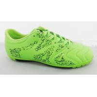China Water Proof New Messi Wholesale Soccer Shoes Customized In Green on sale