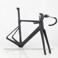 China High Quality 2019 New Light T800 AERO Flat Mount Disc Carbon Road Frame on sale