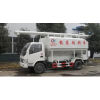 Wholesale forland mini bulk feed pellet tank truck for sale, best price forland LHD farm-oriented animal feed delivery truck from china suppliers