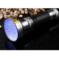 Quality 6 Aa Battery Pack Blacklight LED Torch , 395NM Home Flashlight UV Light Money Checker for sale
