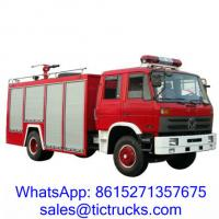 Wholesale 6000L 190HP Foam Water Firefighting Truck 4 x2 DongFeng for sale from china suppliers
