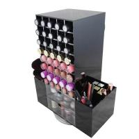 Wholesale New desgin acrylic rotating lipstick holder/acrylic nail polish stand from china suppliers