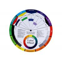 Wholesale Permanent Makeup Pigment Mixing Color Wheel , Pigment Color Wheel Card 200g from china suppliers