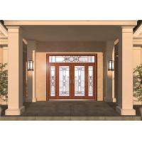 Wholesale Custom Front Entry Door Glass , Colored Decorative Glass Panel For Door from china suppliers