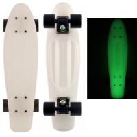 Wholesale Yellow Plastic Penny Skateboard , Penny Style Skateboard 22 * 6 Inches from china suppliers
