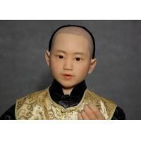 Wholesale Hand Made Lifelike Wax Sculpture For Decoration , Tourist Resort  Exhibition from china suppliers