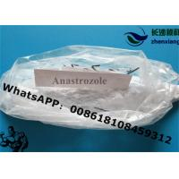 Wholesale Anastrozole 120511-73-1 Anti Estrogen Steroids , Anti Estrogen Medication High Purity from china suppliers