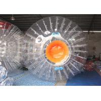 Wholesale Transparent High Durability Inflatable Sports Games 60kg For Zorb Ramp Race Track from china suppliers