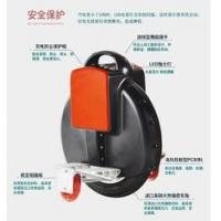Wholesale black Gyro Stabilized Electric Unicycle , Motorised portable Seatless Unicycle from china suppliers