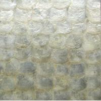 Wholesale Natural Sea shell Wall Covering Capiz Shell Decorating Wall Mosaic Panel for Interior from china suppliers