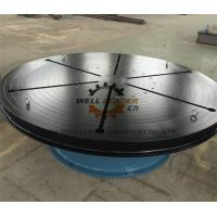 Wholesale Heavy Duty Welding Turn Table Infinitely Variable Rotation Speeds For Automatic Welding from china suppliers