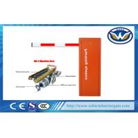 Wholesale Ac220v Automatic Intelligent Vehicle Barrier Gates , Orange Car Park Barriers from china suppliers