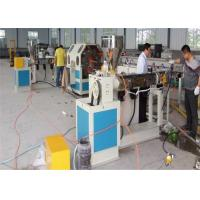 Wholesale Plastic PVC Soft Pipe Extrusion LIne , PVC Fiber Reinfoeced Hose Making Manchine from china suppliers