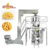 Quality Automatic VFFS Puffed Snack Food Pouch Packing Machine For Back Sealing Bag for sale