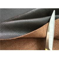 Wholesale Brown Leather Car Upholstery Fabric With 15% Cotton And 15% Polyester from china suppliers