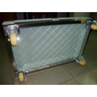 China Food Grade Medicine Plastic Drying Trays With Holes Can Stack , trolley movable on sale