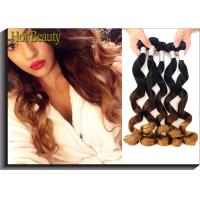 Wholesale High Fasion Peruvian Hair 3tone Color Natural Wave Hair Extension from china suppliers