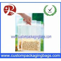 Wholesale Side Gussest Custom Packaging Bags Ziplock Aluminium with Food from china suppliers