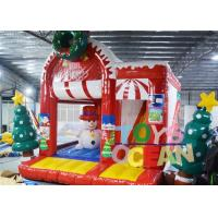 Quality Cheap Snowman Christmas jumping Castle Inflatable Christmas bouncers for sale for sale