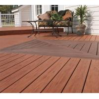 Wholesale UV Resistance Wpc Timber Flooring Decks Recyclable For Exterior Garden Decks from china suppliers