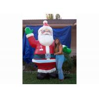 Buy cheap Giant Inflatable Cartoon Characters / Inflatable Santa Claus for Christmas Promotion from wholesalers