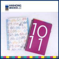 Wholesale Colorful A5 , A4 or custom spiral notebook printing  for school students from china suppliers