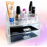Wholesale Cosmetic Custom Acrylic Products Multiple Display Makeup Box Case With Drawers from china suppliers