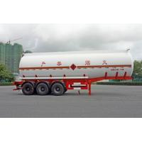 Wholesale 2 Axles Oil Tank Trailer 28600L , Fuel Tanker Semi Trailer 28.6CBM 10000×2490×3350 from china suppliers
