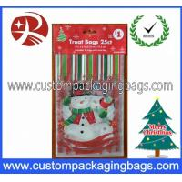 Wholesale Custom Printed Plastic Treat Bags HDPE 20 - 100micron For Christmas from china suppliers