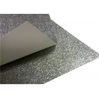 Wholesale Children ' S Toy Paperboard Silver Glitter Paper / Sparkle Craft Paper For Invitation Card from china suppliers