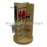Wholesale Countertop Slatwall Display Fixtures Commercial Gifts Retail Rotating Display Stand from china suppliers