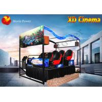 Wholesale Air Injection / Blow Water XD Simulator 9D Virtual Reality Cinema With 2 - 12 Seat from china suppliers
