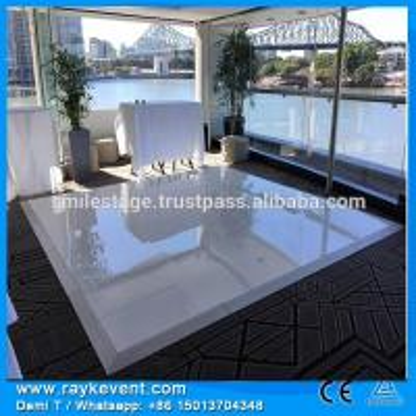 Rk High Quality 18mm Plywood White Black Flooring For