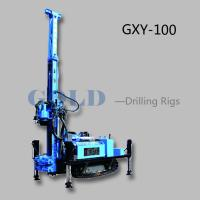 Wholesale Diesel drilling rig GXY-100 hydraulic drilling rig, diesel drilling machine from china suppliers