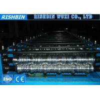 Wholesale Automatic Adjustable Metal Tile Roll Forming Equipment with GCr15 Steel Rollers from china suppliers